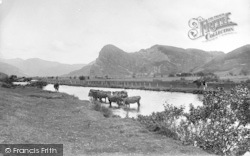 Dysynni Valley, Bird Rock And Dysynni River 1895