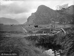 Dysynni Valley, Craig Aderyn And Cader Idris 1925