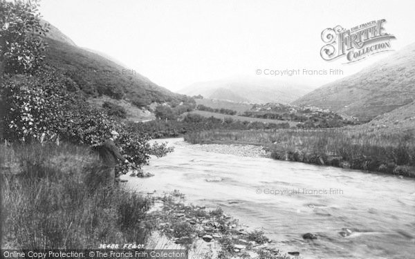 Photo of Dysynni Valley, Dysynni River From Near Pont Ystumaner 1895