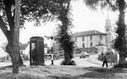 Eaglesham, the Church c1955