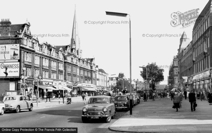 Photo of Ealing, New Broadway c.1965