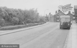 Earby, Colne Road c.1955