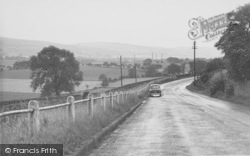Earby, From Thornton c.1955
