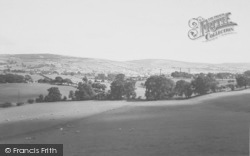 Earby, General View From Skipton Road c.1965