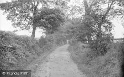 Earby, Shaw Lane c.1910