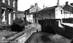 Earby, The Bridge And River c.1965