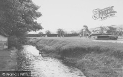 Earby, The River And Playing Fields c.1960