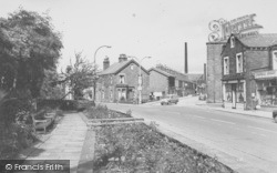Earby, Victoria Road And Gardens c.1965