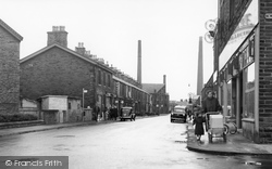 Earby, Victoria Road c.1955
