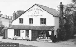 Eardisland, Bridge Stores And Café c.1955