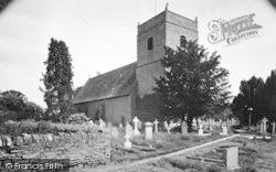 Eardisland, Church Of St Mary The Virgin c.1955