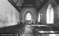 Eardisland, Church Of St Mary The Virgin Interior c.1960