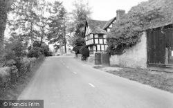 Eardisland, Staick House And Bridge c.1960