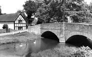Eardisland, the Bridge c1955