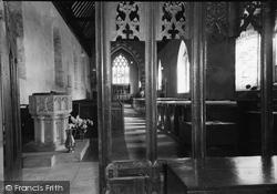 Eardisland, The Church Interior c.1960