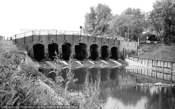 Earith, Seven Holes Bridge c1955