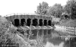 Earith, Seven Holes Bridge c.1955