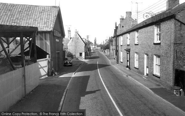 Earith, West End c1955