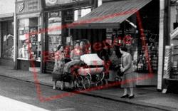 Ladies In Market Street c.1960, Earlestown