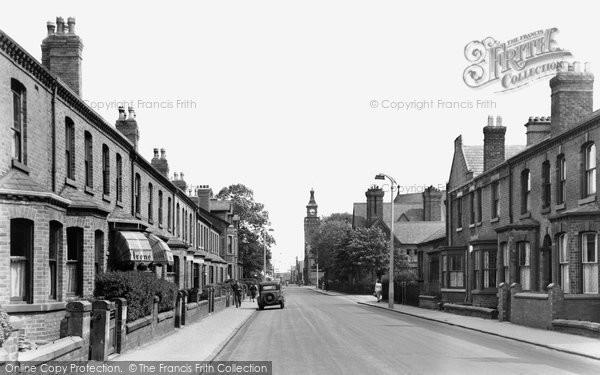 Earlestown, Market Street c1955