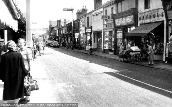 Earlestown, Market Street c1960