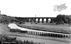 Nine Arches And Canal c.1955, Earlestown