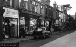 Shopping On Market Street c.1960, Earlestown