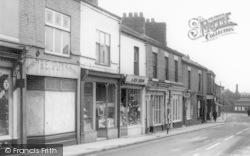 Earlestown, Shops On Market Street c.1965