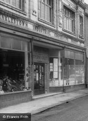 The Co-Operative Society, Earle Street c.1965, Earlestown