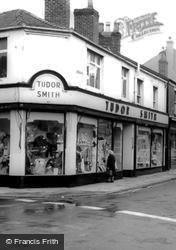 Tudor Smith Shop, Bridge Street c.1965, Earlestown