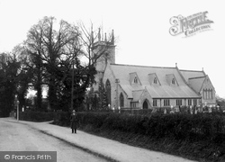 St Peter's Church 1910, Earley