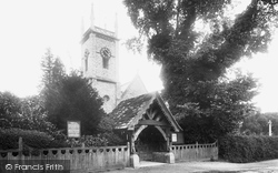 St Peter's Church 1924, Earley