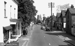Earls Colne, High Street 1961