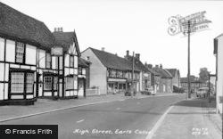 Earls Colne, High Street c.1960