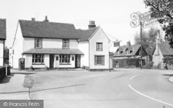 Earls Colne, The George Hotel c.1955
