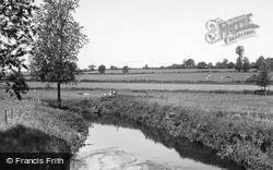 Earls Colne, The River Colne c.1955