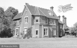 Earls Colne, The Vicarage c.1955