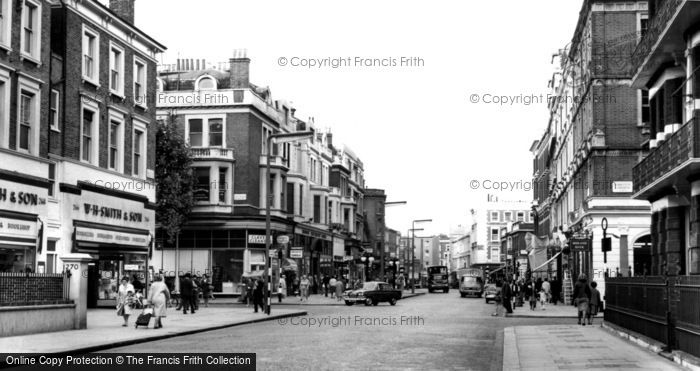 Photo of Earls Court, High Street c.1965