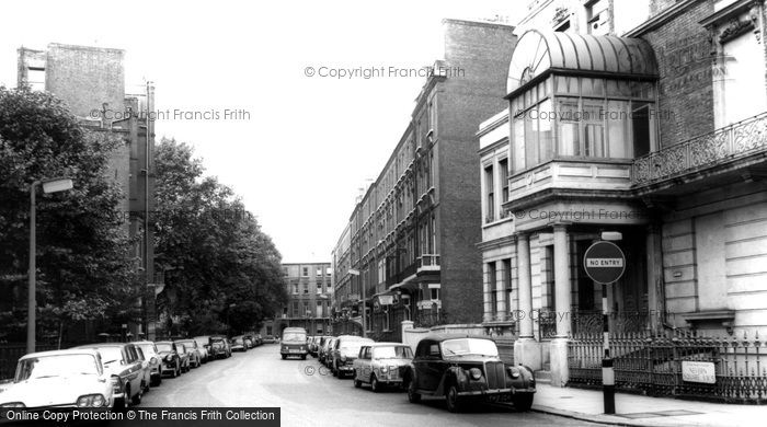 Photo of Earls Court, Nevern Square c.1965
