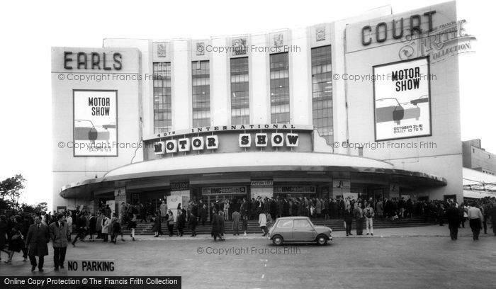 Photo of Earls Court, The Exhibition Building 1964