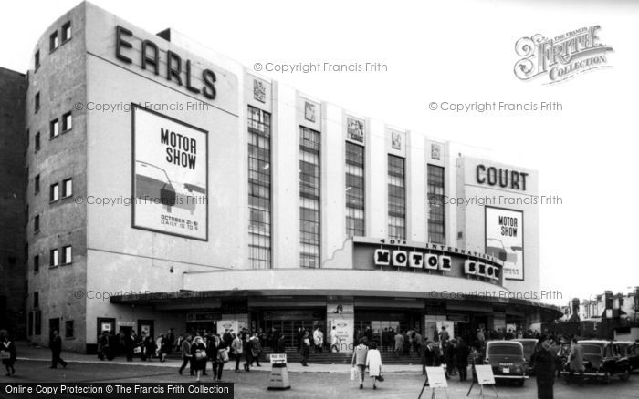 Earls Court, The Exhibition Building 1964