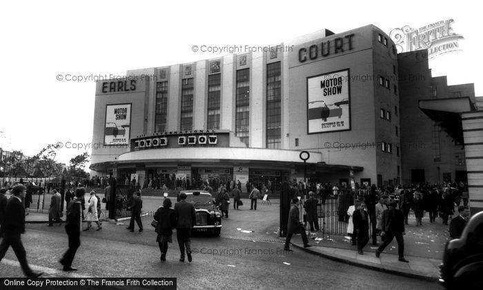 Earls Court, the Exhibition Building c1965