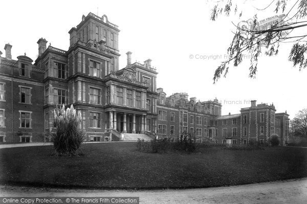 Earlswood, Institution 1912