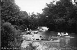 Earlswood, Lake, The Island c.1950