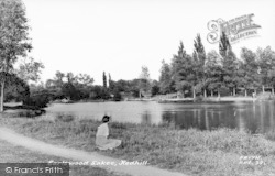 Earlswood, Lakes c.1960