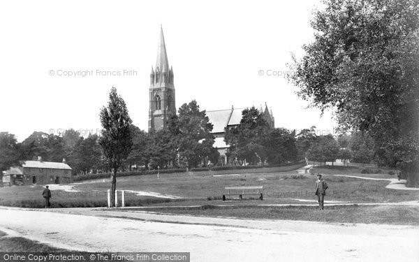 Earlswood, St Johns Church 1906