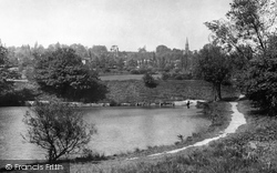 Earlswood, The Lakes c.1955