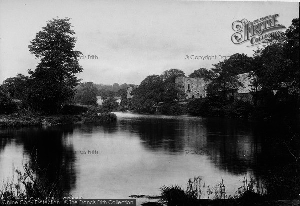 Photo of Easby, Abbey 1892