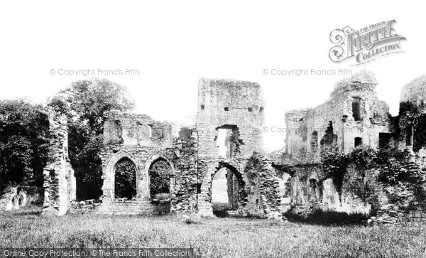 Photo of Easby, Abbey 1893