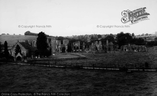 Photo of Easby, Abbey c.1960